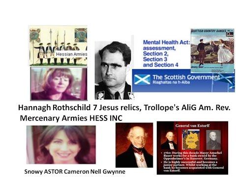 Hannah Rothschild 7 Jesus relics, Trollopes AliG Am Rev Mercenary Armies HESS INC