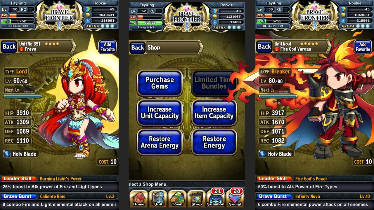 how to get more gems brave frontier