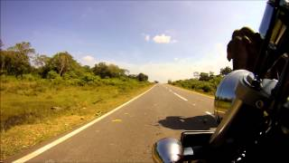 Sri Lanka Motorbike Elephant Encounters