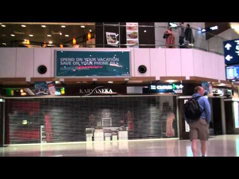 Arrival at Kuala Lumpur International Airport, Transit Area