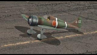 ラジコン飛行機 九六式四号艦戦 A5M4 Claude リアルフライト6.5 RealFlight6.5 ラジコンフライトシミュレーター