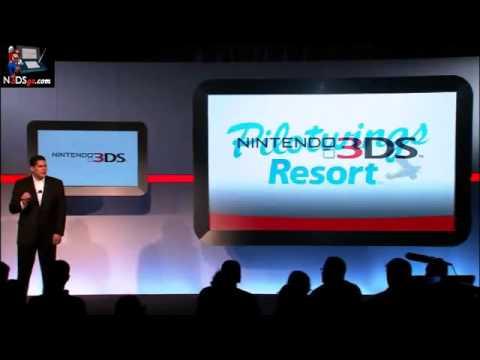 Primeras reacciones a la Nintendo 3DS en la E3