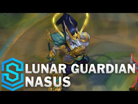 Lunar Guardian Nasus Skin Spotlight - League of Legends