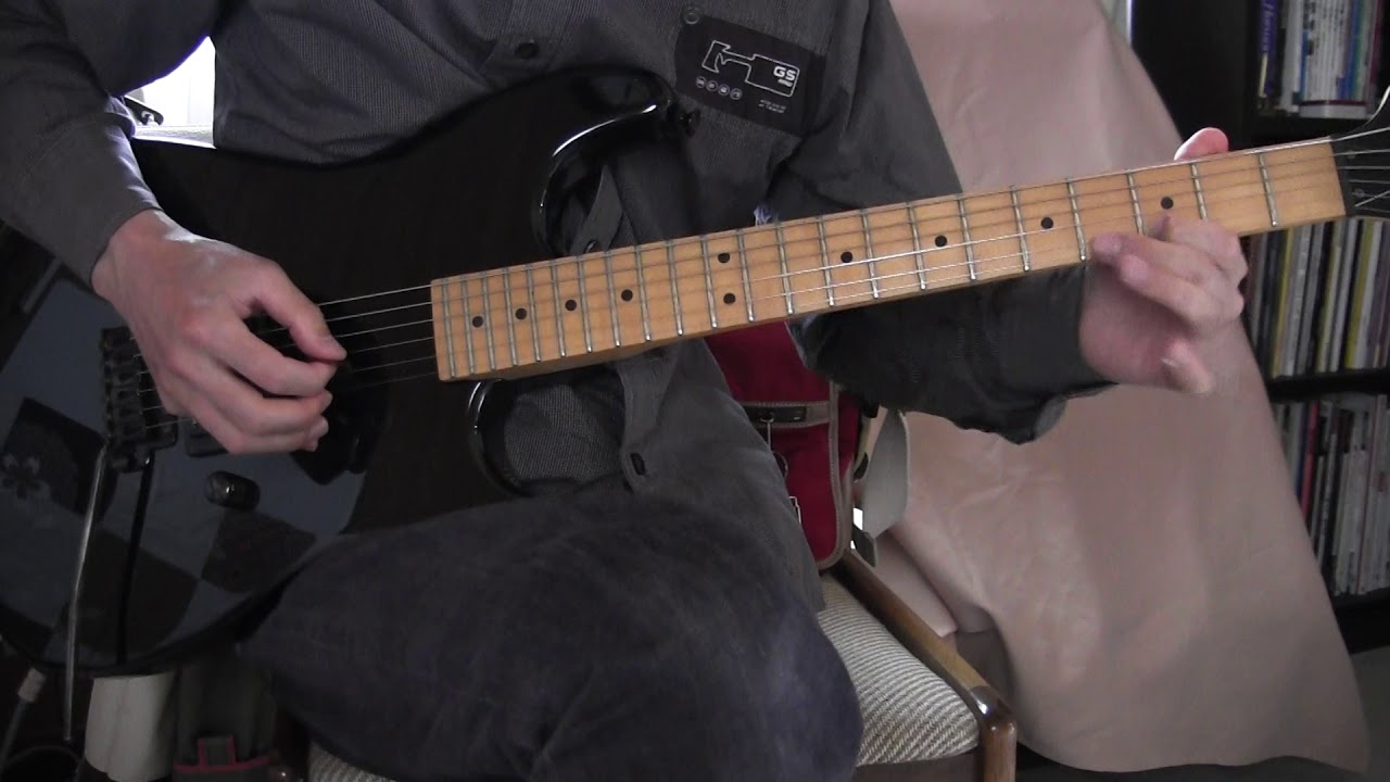 Jamming On 1980s MIJ Charvel Model 1 Electric Guitar Part 1