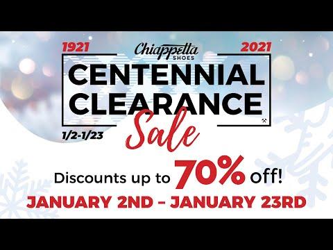 Centennial Clearance Sale - Chiappetta Shoes | FW20