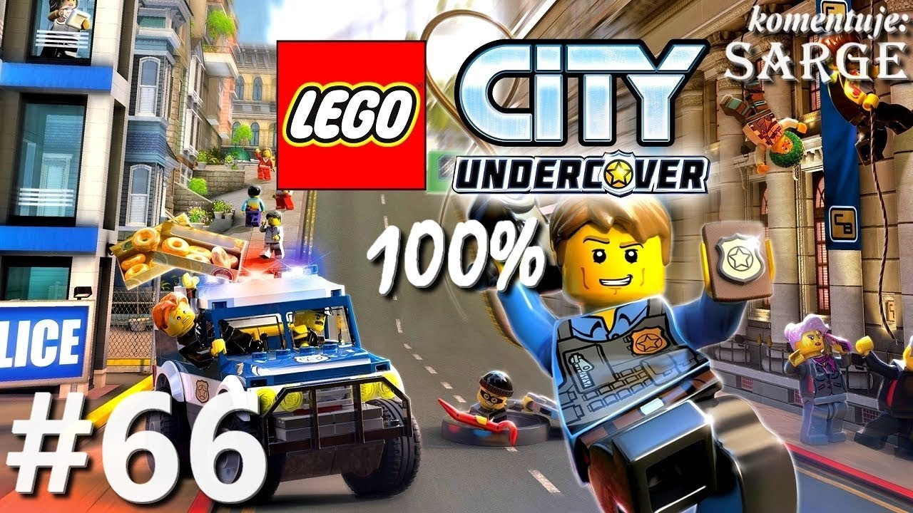 Zagrajmy w LEGO City Tajny Agent (100%) odc. 66 – Tajna baza 100% | LEGO City Undercover PL