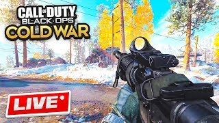 🔴 COLD WAR LIVE GAMEPLAY! (Call Of Duty: Black Ops Cold War Multiplayer)