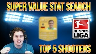 TOP 5 ULTRA CHEAP BUNDESLIGA SHOOTERS   SUPER VALUE STAT SEARCH   FIFA 14 ULTIMATE TEAM