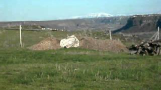 Tannerite Vs. Wood Stump
