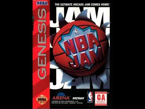 NBA Jam GENESIS Playthrough - Phoenix Suns vs Philadelphia 76'ers (1080p/60fps)