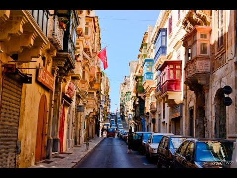 Driving Through Valletta
