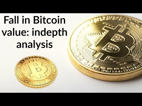 Why Bitcoin Value Is Falling Down? Analysis Of Future Of Cryptocurrency, Current Affairs 2019