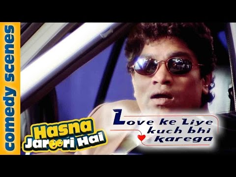 Johny Lever Comedy As Salman Khan - Hasna Zaroori Hai - Love