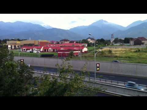 Almaty Mountain Range, Miras International School Almaty