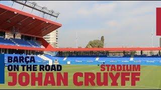 EXCLUSIVE INSIDE TOUR of JOHAN CRUYFF STADIUM!!! | Barça On The Road