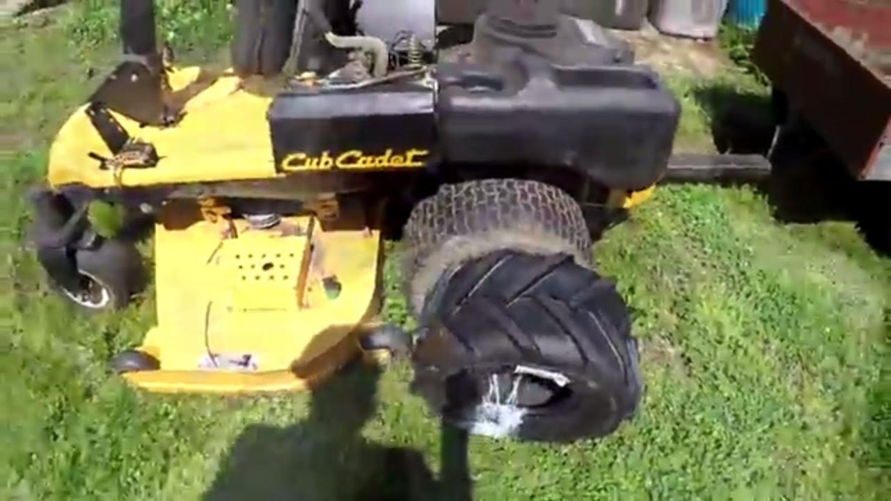 Aggressive Tires For The Cub Cadet Zero Turn Mower