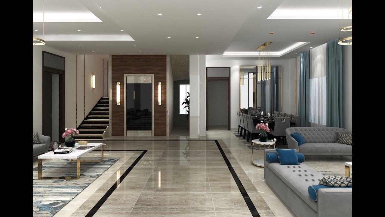 Ideas de pisos modernos para sala de estar youtube - Fotos de recibidores de pisos ...