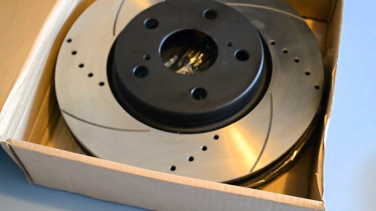 Тормозные диски (схема, размеры)
