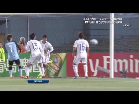 【後半ハイライト】川崎フロンターレ 4×0 東方足球隊 2017年5月9 ...