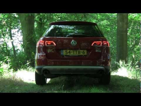 Volkswagen Passat Alltrack 2.0 TSI DSG Revving (Interior, Engine, Exhaust)