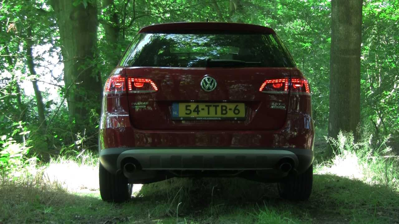 Volkswagen Passat Alltrack 2 0 Tsi Dsg Revving Interior