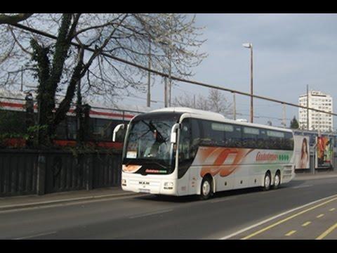 Abv 092 Autobusni Kolodvor Zagreb Polasci Youtube