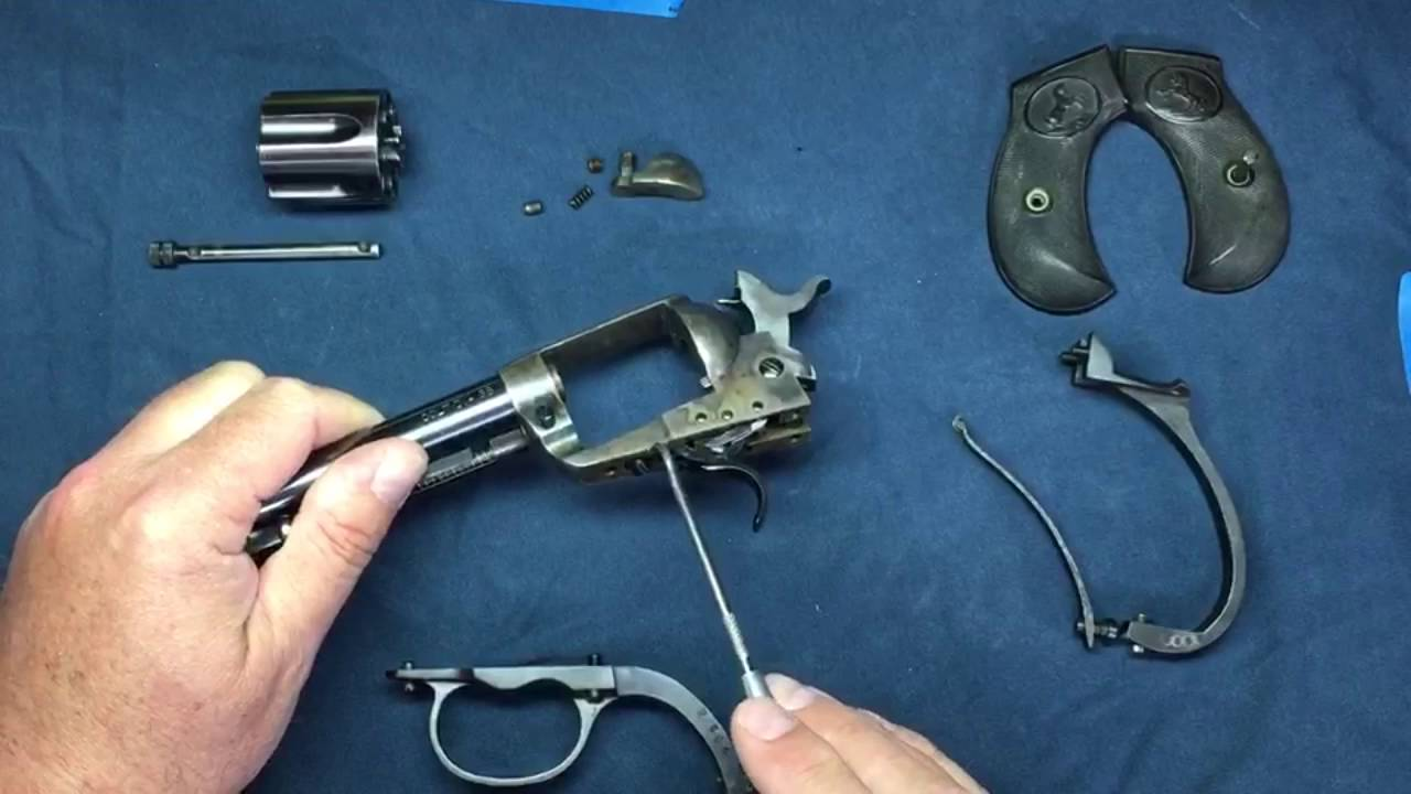 colt model 1877 lightning revolver disassembly and repair part 1 of 3 youtube [ 1280 x 720 Pixel ]