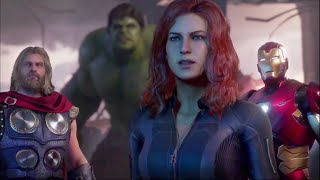 Marvel's Avengers,Japan Game Show new prologue gameplay.Controls and new changes.
