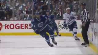 Canucks vs Lightning - Highlights - 10/18/14 - HD