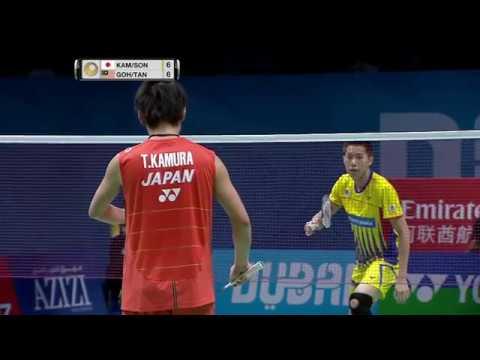 Dubai World Superseries Finals 2016   Badminton F M5-MD   Kam/Son vs Goh/Tan