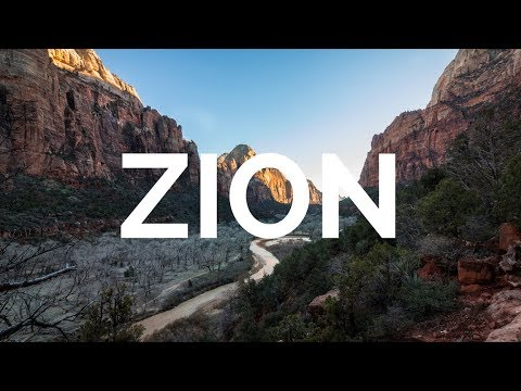 Landscape Photography In The Canyons of Zion National Park | This Is What It's All About!