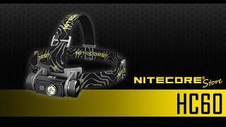 Nitecore HC60 rechargeable 1000 lumens headlamp