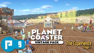 Hysteria Pier Part 9 - Planet Coaster Vintage Pack - Buildings and Ride Queue Lines - The Experience