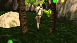 Indiana Jones and the Infernal Machine Olmec Valley PJ64