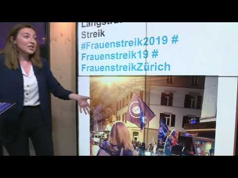 Euronews:Frauenstreik: Women in Switzerland are calling for equality | The Cube