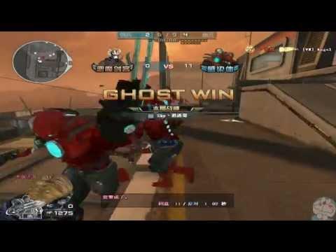 CrossFire China : Desert Fortress ( Mutation Knight ).Zombie v6