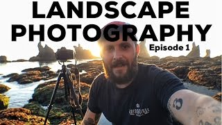landscape photography   on location frustrations with long exposure