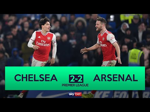 Chelsea 2-2 Arsenal | 10-Man Arsenal Grab Late Equaliser At Chelsea!