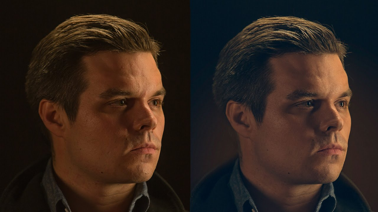 How to Retouch a Dramatic Male Headshot in Photoshop