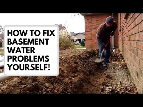 How to Fix Basement Water Problems Yourself (Old Video)