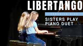 Libertango by Piazzola I Veronica I Piano 4 Hands Duet