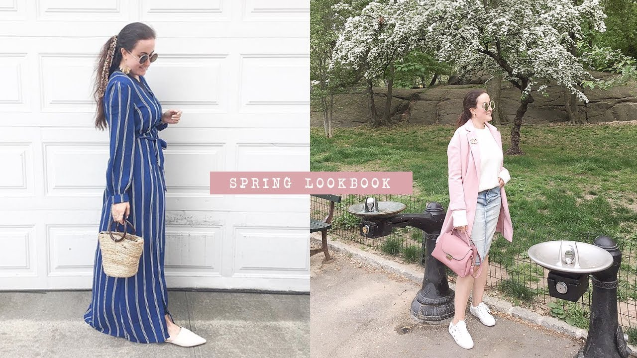 SPRING MODEST LOOKBOOK - 5 OUTFITS! 1