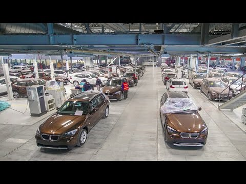 BMW Brilliance Automotive Plant Tixie, China | Construction Time Lapse