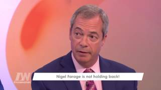 Nigel Farage On Brexit, Theresa May And Stepping Down | Loose Women
