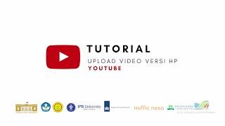 Youtube - Tutorial Upload Video Versi HP