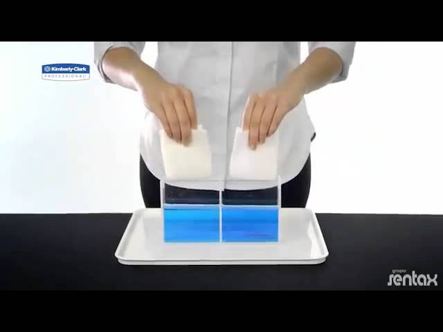 Papel Toalha - Comparativo - Kimberly Clark