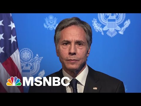 Blinken: U.S. Will 'Respond Forcefully' To Russian Aggression | MSNBC