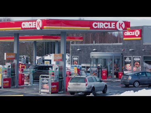 Circle K Rygge - Norway Builds Its EV Proof Future Service Station Format