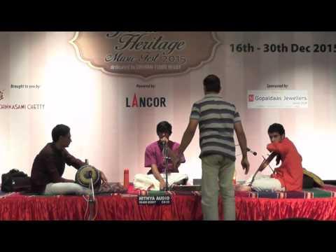 Chennai Music Season 2015 | Varun Ganesan | Cleveland Aradhana