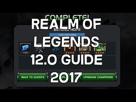 Realm Of Legends 12.0 Guide - Updated 2017 Info - Marvel Contest Of Champions